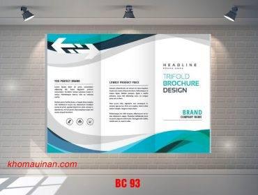 Mẫu catalogue BC93