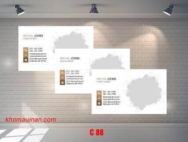 Bộ sưu tập mẫu name card kinh doanh Mẫu C88