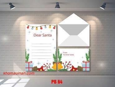 Bộ sưu tập mẫu phong bì – PB 64